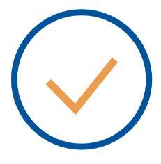 transcription check mark icon