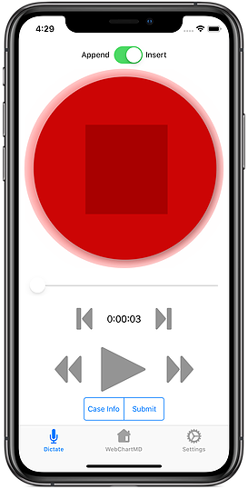 WebChartMD Mobile App